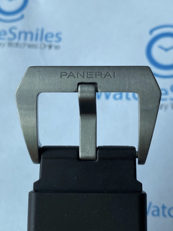 Panerai PAM797 Luminor Titanium 8 Days Power Reserve Brown Dial 44 mm