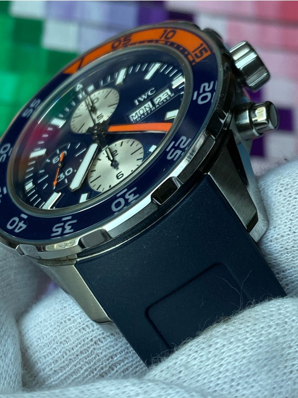 IWC Aquatimer Chronograph Stainless Steel Blue Dial IW376704