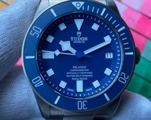 Tudor Pelagos Blue Dial Titanium 25600TB