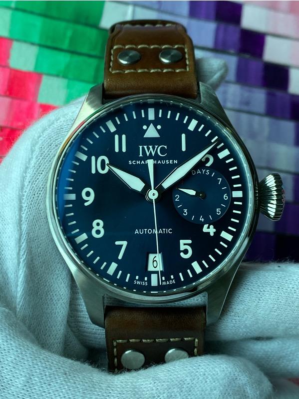 "IWCBig Pilot Edition ""LE PETIT PRINCE"" Blue Dial IW500916"