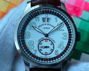 Franck Muller Transamerica Grand Guichet Big Date Limited Edition 250 pcs