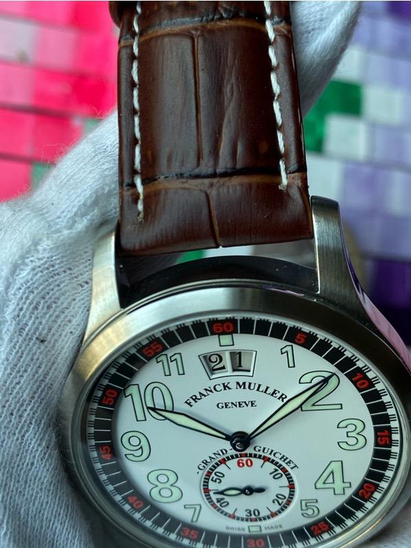 Franck Muller Transamerica Grand Guichet Big Date Limited Edition 250 pcs