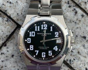 Vacheron Constantin Overseas Date Black Dial 37mm 42042/423A