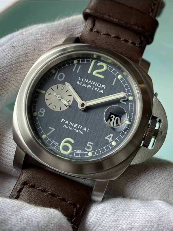 Panerai PAM00086 Luminor Marina Automatic Anthracite Dial 44mm