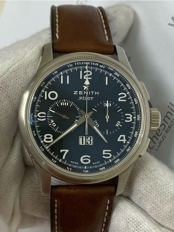 Zenith El Primero Pilot Chronograph Big Date Special03.2410.4010/21.C722