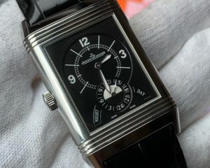 Jaeger-LeCoultre  Reverso Duoface GMT Night & Day 273.8.85 Jumbo Size Steel