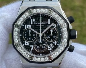 Audemars Piguet Lady Royal Oak Offshore Chronograph Diamond Bezel Black Dial 26048SK.ZZ.D002CA.01Audemars Piguet Lady Royal Oak Offshore Chronograph Diamond Bezel Black Dial 26048SK.ZZ.D002CA.01