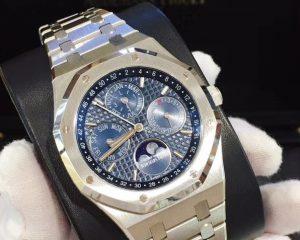 Audemars Piguet Royal Oak Perpetual Calendar Blue Dial 26574ST.OO.1220ST.02