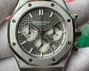 Audemars Piguet Royal Oak Chronograph 26315ST.OO.1256ST.02 Ruthénium-toned dial 38mm