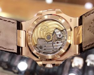 Patek Philippe Nautilus Brown Dial 18K Rose Gold 5711R