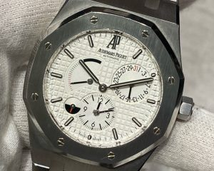 Audemars Piguet Royal Oak Dual Time Power Reserve 26120ST.OO.1220ST.01 White Dial