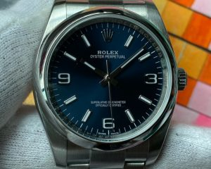Rolex Oyster 116000 Blue Dial Stainless Steel 36mm /w Card (2017)