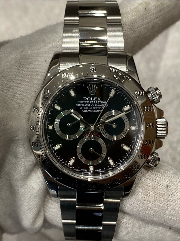 Rolex Daytona 116520 Black Dial Stainless Steel G Serial