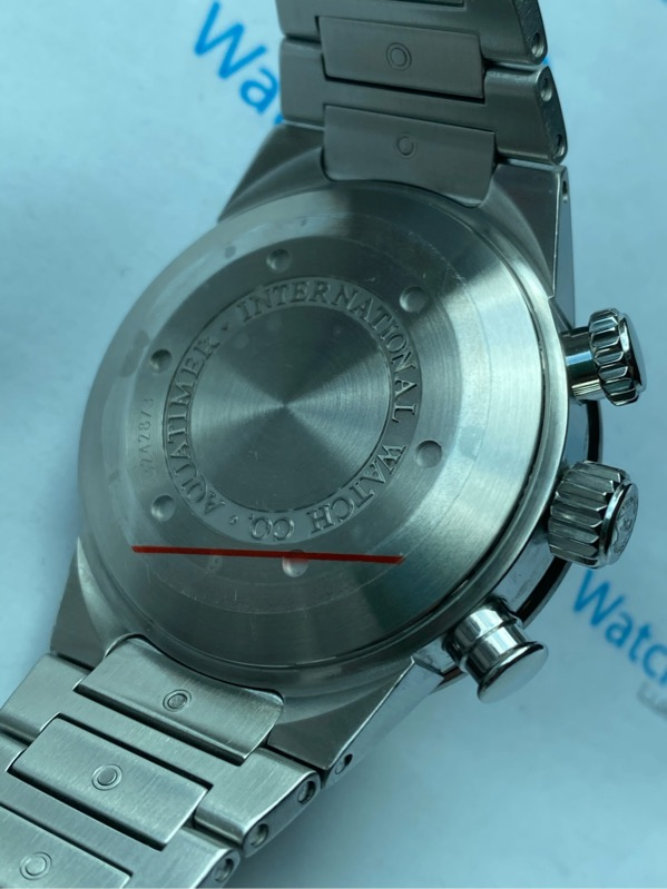 Aquatimer Chronograph Stainless Steel Black Dial IW371928