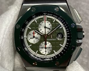 Audemars Piguet Royal Oak Offshore Khaki Green Ceramic Bezel Limited Edition 400 pcs26400SO.OO.A055CA.01