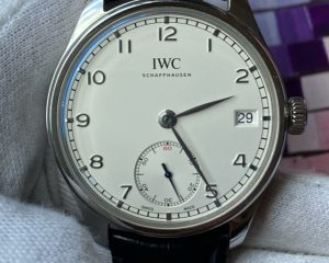 IWC Portuguese Hand-Wound 8 Days IW510203 White Dial