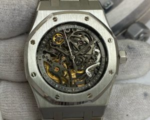 Audemars Piguet Royal Oak Openworked Skeleton  Stainless Steel 15305ST.OO.1220ST.01