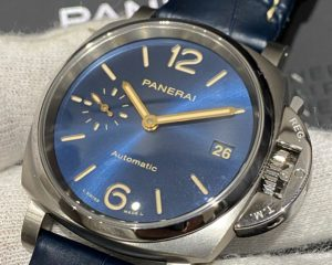 PANERAI PAM00926 Luminor Due Titanium 38mm Automatic Blue Dial 38 mm