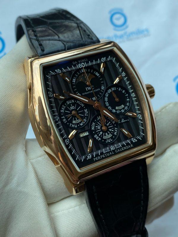 IWC Da Vinci Perpetual Calendar Kurt Klaus Chronograph Rose Gold IW376206 Limited Edition 1000 Pcs