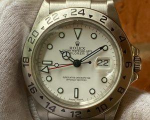 Rolex Explorer II White Dial 16570 F Series