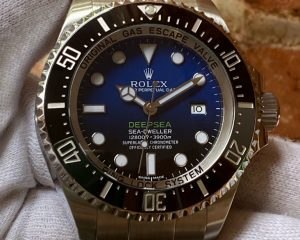 Rolex DeepSea SD D-Blue 116660 Box & Card