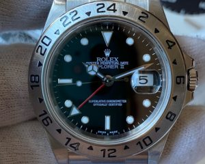 Rolex Explorer II Black Dial 16570 D Series