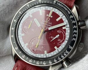 Omega Speedmaster Schumacher Red SS Automatic 3510.61
