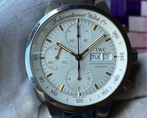 GST Chronograph Steel Automatic White Dial 3707