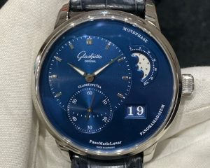 Glashutte Original PanoMaticLunar Blue Dial  Steel 1-90-02-46-32-01