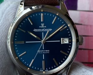 Jaeger-LeCoultre Geophysic True Second Blue Dial Limited Edition 100 Pcs