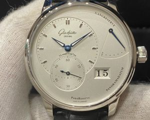 Glashutte Original PanoReserve Silver Dial  Steel 1-65-01-22-12-04