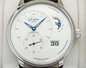 Glashutte Original PanoMaticLunar Silver Dial  Steel 1-90-02-42-32-05