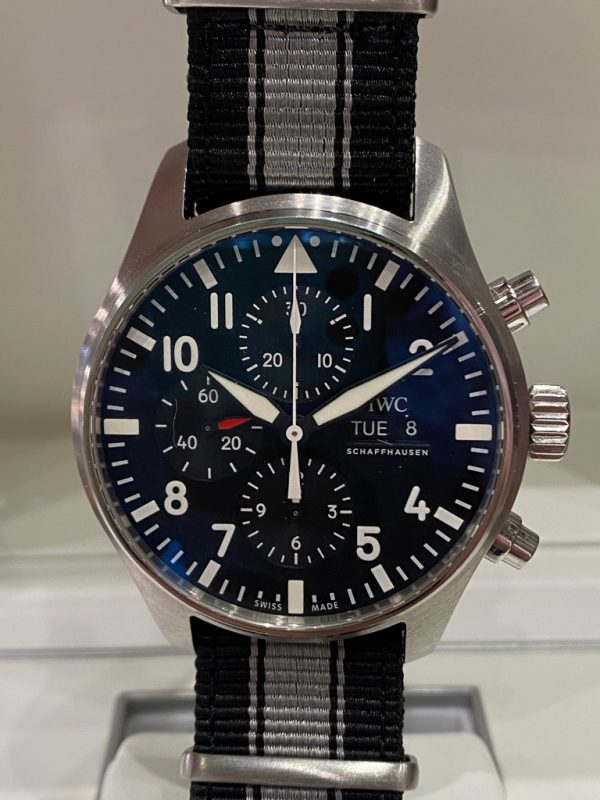 IWC Pilot Chronograph Black Dial IW377709 Box & Papers