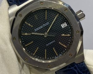 Audemars Piguet Royal Oak Automatic Grey Hobnail Dial 36mm 14800ST
