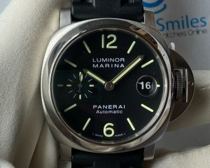 PANERAI Luminor Marina Black Dial Automatic 40mm PAM00048