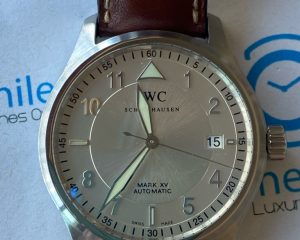 IWC PPilot Mark XV Silver Dial IW325313