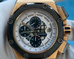 Audemars Piguet Royal Oak Offshore RB2 (Rubens Barrichello II) Skeleton Dial Limited Edition 26078RO.OO.D001VS.01
