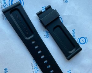 Brand: Panerai Description: Panerai OEM Rubber Strap Condition : New Size: 125/75 | 24/22 Buckle: For Deployment buckle