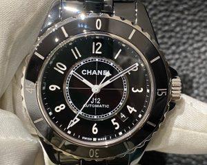 Chanel J12 Black Ceramic 38mm H5697