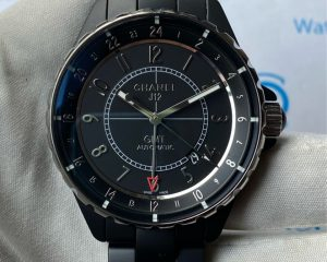 Chanel J12 Black Ceramic Automatic GMT H3101
