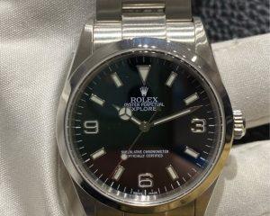 RolexExplorer I Black Dial 114270