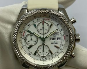 Breitling Bentley GT Chronograph White Dial A1336212/A726