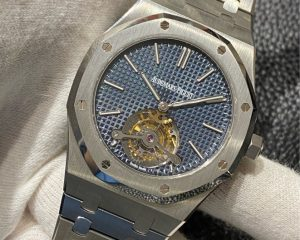 Audemars Piguet Royal Oak Ultra Thin Tourbillon Blue Dial 41mm 26510ST