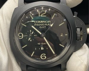 Panerai PAM 335 GMT 10 Days Power Reserve Ceramic Case