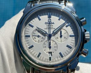 Omega De Ville Prestige Chronograph Co-Axial Ref. 45413100 Middle East Edition