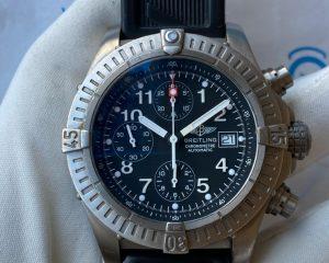BREITLING Avenger Black Dial Chronograph Titanium E13360