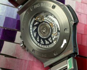 Hublot Hublot Big Bang 41mm Gray DIal Chronograph with SS bracelet342.ST.5010.ST