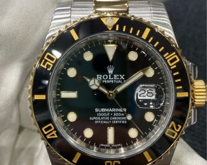 Rolex Submariner Date Black Dial 18K/SS Automatic 116613LN