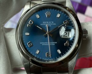Rolex Oyster Perpetual Date 15200 Blue Dial
