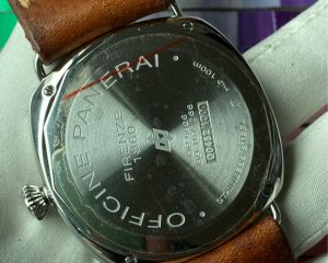 PaneraiRadiomir PAM380 Black Seal Logo 45mm